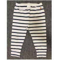 Calça listra azul e branca GAP - 12 a 18 meses - Baby Gap