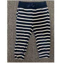 Calça listrada azul marinho - 2 anos - Baby Gap