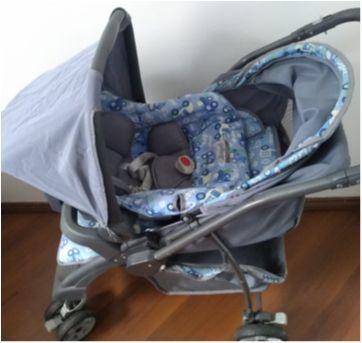 Carrinho de Bebê + Bebê Conforto + Base  Burigotto - Sem faixa etaria - Burigotto