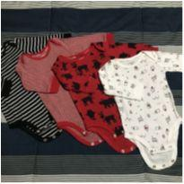 Kit de body - Carter's (3m) - 0 a 3 meses - Carter`s