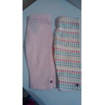 Conjunto Legging Tommy - 6 a 9 meses - Tommy Hilfiger