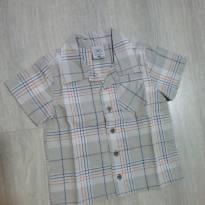 Camisa manga curta G - 9 a 12 meses - 9 a 12 meses - Hering Baby