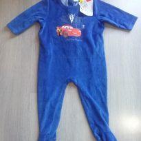 Macacão G longo azul disney - 9 a 12 meses - Disney baby