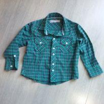 Camisa social xadrez menino n. 2 - 2 anos - Marca não registrada