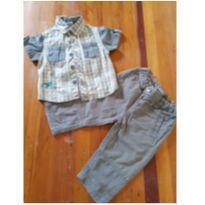 Conjunto lindo - 3 a 6 meses - Marisol e Baby Way
