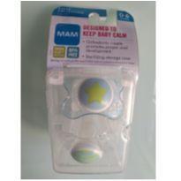 Chupeta MAM Clear 0-3 Meses Menino (2 unidades) -  - MAM