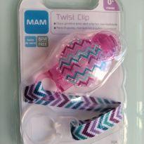 Prendedor de chupeta MAM Twist Clip lilás -  - MAM