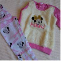 Conjunto infantil feminino - 18 a 24 meses - Conjunto Minnie