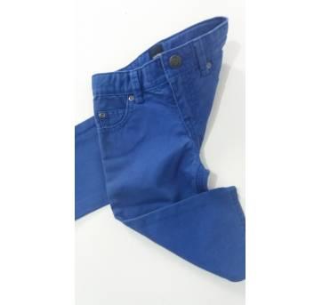 Calça sarja azul royal Gap (H86) - 12 a 18 meses - GAP