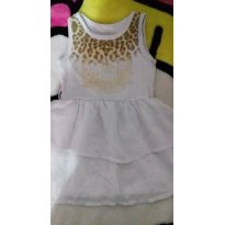 vestido branco - 9 a 12 meses - Não informada