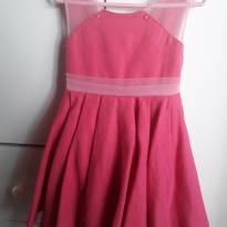 Vestido de festa pink - 3 anos - Não informada