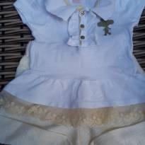 Camisa polo +Short - 18 a 24 meses - Lilica Ripilica