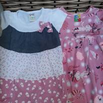 2 vestidos lindos 1 a 2 anos - 12 a 18 meses - Não informada