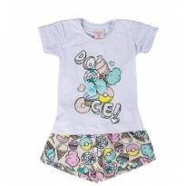 Conjunto Doces White - 2 anos - By Gus
