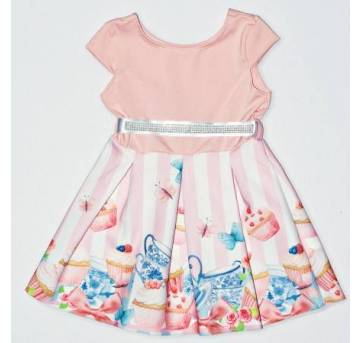 Vestido Cupcake Rose - 1 ano - By Gus