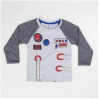 Camisa Astronauta - 2 anos - By Gus