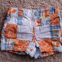 Shorts Gymboree - 0 a 3 meses - Carter`s e Gymboree