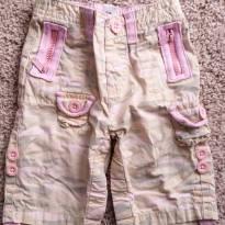 Calça camuflada rosa GAP - 0 a 3 meses - GAP