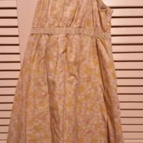 Vestido Florido amarelo claro - 7 anos - Gymboree