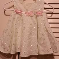 Vestido simples - 3 meses - Bonnie Baby