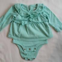 Body manga comprida - 0 a 3 meses - Koala Baby