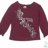 Camiseta manga longa Calvin Klein NOVA - 18 meses - Calvin Klein