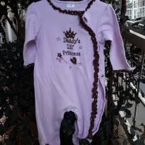 Macacão Princess - 9 meses - Importada