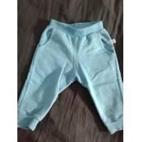 Calça Azul Lindinha - 3 a 6 meses - Não informada