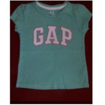 camiseta básica gap - 2 anos - GAP