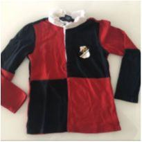Camisa manga longa menina ralph lauren - 4 anos - Ralph Lauren