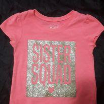 Blusa Sister - 3 anos - The Children`s Place