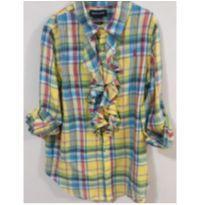 Camisa infantil ralph lauren menina
