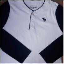 Camisa Manga Longa Abercrombie - 9 anos - Abercrombie