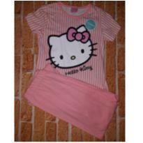 Pijama Hello Kitty - 6 anos - Hello Kitty by Sanrio