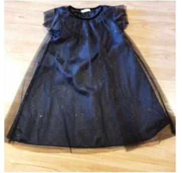 Vestido Preto Zara - 8 anos - Zara