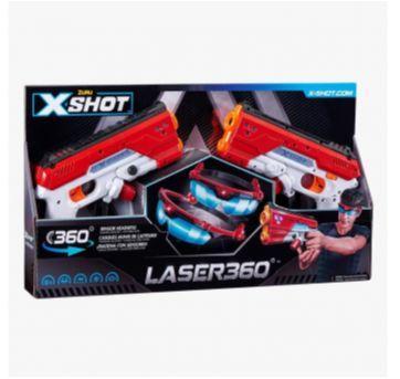 Lançador x-shot 360 laser obs sem a caixa - Sem faixa etaria - Candide