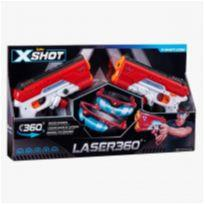 Lançador x-shot 360 laser obs sem a caixa