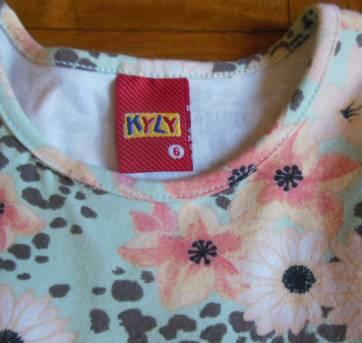 Vestido Florido Kyly - 6 anos - Kyly