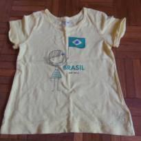Camiseta Brasil Gap 2016 - 5 anos - GAP