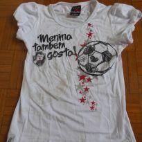Camisa Menina também Gosta  Vasco - 6 anos - Braziline