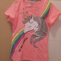 Camiseta Unicornio - 7 anos - Fuzarka