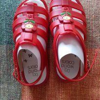 Sandália vermelha - 26 - World Colors