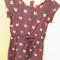 Vestido com lindas raposinhas - 5 anos - Gymboree