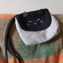 Linda bolsa de gatinha -  - Alphabeto