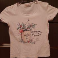 Camiseta justinha - 8 anos - Carinhoso