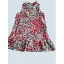 Primavera -vestido oncinha - 6 anos - Fiotty Kids