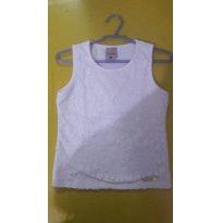 Camiseta rendada - 6 anos - Colorittá