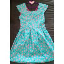 Vestido estampado - 8 anos - Palomino