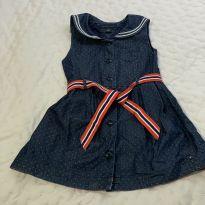 Lindo vestido infantil Tommy Hilfilger Tam 3 - 3 anos - Tommy Hilfiger