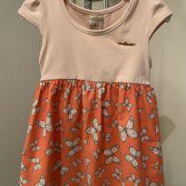 Vestido Milon borboletas 3 anos - 3 anos - Milon